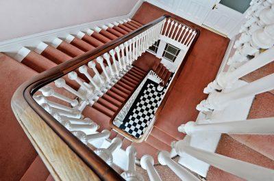 Stair case shot