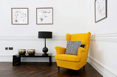 Contemporary minimalist lounge