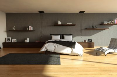 Cgi of a bedroom