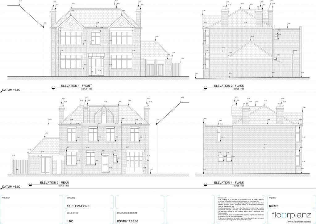 Measured Building Surveys, Floorplanz