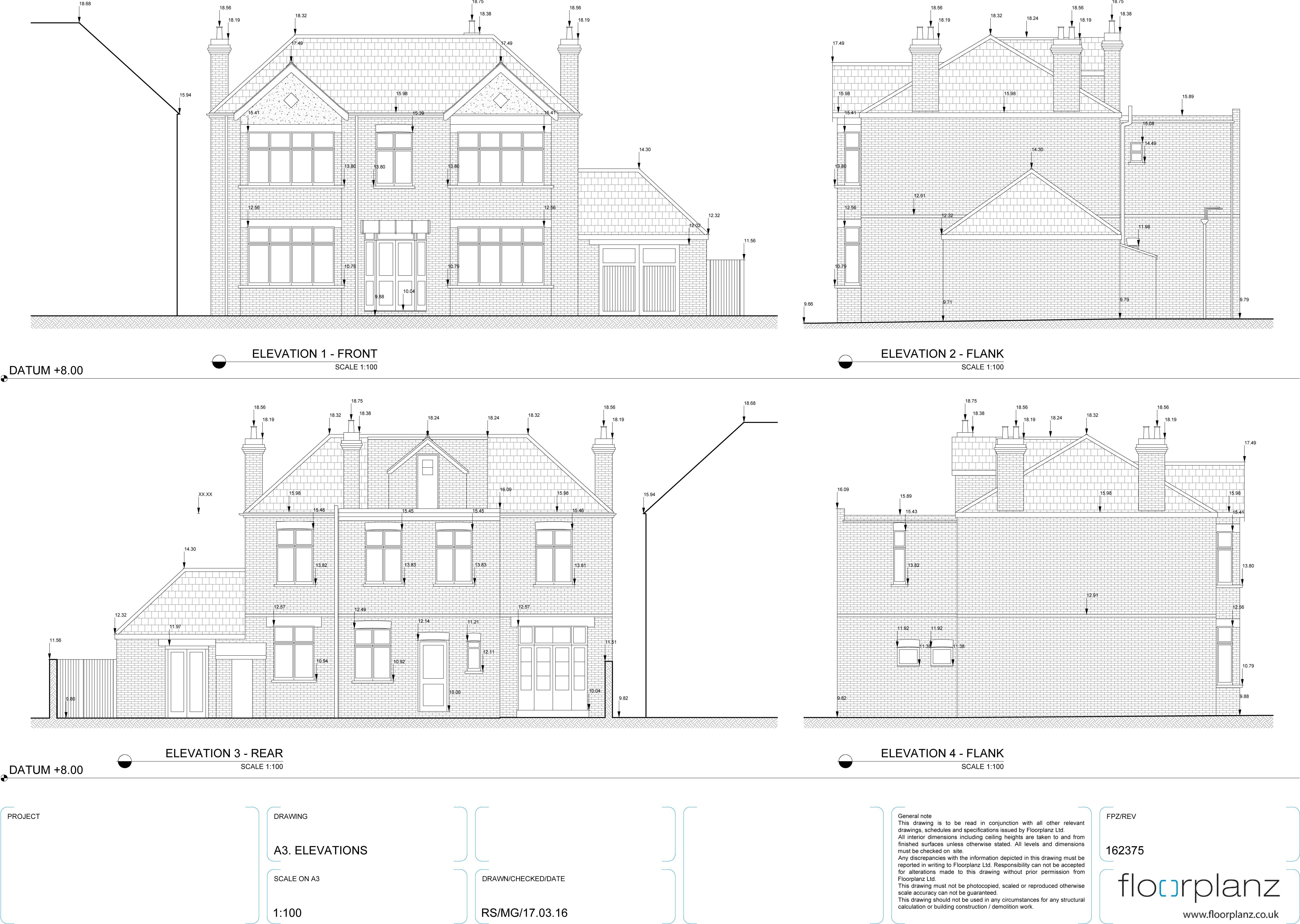 Measured Building Surveys Topographical Surveys - Elevation measurement