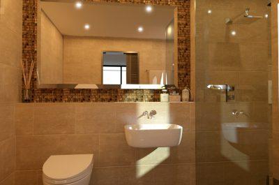 Cgi of an Ensuite bathroom