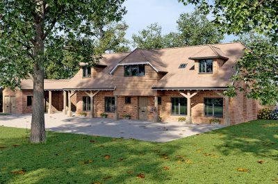 Cgi of Pond House