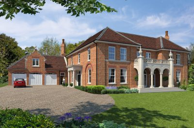 Cgi of Red Cottage large detached home