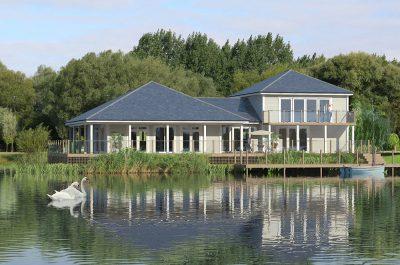 Cgi of the Lake house